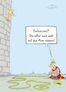 Cartoon: Rapunzel (small) by Marcus Gottfried tagged märchen,haare,extensions,rapunzel