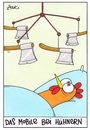 Cartoon: huhn (small) by WHOSPERFECT tagged mobile,huhn,hühner,chicken
