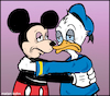 Cartoon: No hope (small) by matan_kohn tagged illustration,toon,caricature,funny,sad,mickymouse,donaldduck,dysney,wierd,lonely,memes,love,digitaldrawing,badthings,out,gay,nature,animals,charcoaldrawing,charekters,maniadiprincesa,artistsoninstagram,kiss,scarry,the,voice,animation,loonytoons