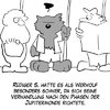 Cartoon: Neulich im Bus (small) by Thomas Martin tagged werwolf,mond,jupiter