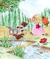 Cartoon: ALICIA EN PAIS DE LAS MARAVILLAS (small) by SOLER tagged cuento,alicia,conejo
