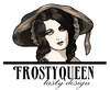 Cartoon: FrostyQueen logo (small) by frostyhut tagged logo,design,woman,women,face,hat,queen,drawing,pretty,beautiful
