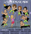 Cartoon: My Super Music Men (small) by frostyhut tagged classical,music,musicians,artists,piano,superman,men,conductor,pianist,cello,violin,zukerman,herascasado,bell,denk,trpceski,kraggerud,mullerschott,bronfman