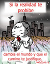 Cartoon: antisistema (small) by LaRataGris tagged prohibido