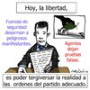 Cartoon: lecturas libres (small) by LaRataGris tagged tergiversar,television