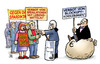 Cartoon: Blockupy-Verbote (small) by Harm Bengen tagged blockupy,verbote,occupy,demonstrationen,kundgebungen,demonstrationsrecht,banken,spekulation,spardiktat,frankfurt