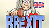 Cartoon: Brexit-Urteil (small) by Harm Bengen tagged brexit,urteil,parlament,may,eu,europa,high,court,richter,harm,bengen,cartoon,karikatur
