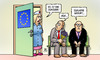 Cartoon: Es ist ein Juncker (small) by Harm Bengen tagged juncker,eu,europaparlament,kommissionspräsident,wahl,geburt,harm,bengen,cartoon,karikatur
