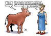 Cartoon: IWF-Haircut (small) by Harm Bengen tagged frisur,haare,lagarde,frisör,haircut,schulden,griechenland,eu,europa,stier,harm,bengen,cartoon,karikatur