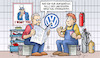 Cartoon: Winterkorn und USA (small) by Harm Bengen tagged winterkorn,usa,vw,abgasskandal,diesel,anklage,harm,bengen,cartoon,karikatur