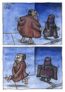 Cartoon: Exhibitionism (small) by vladan tagged exhibitionism,terrorism