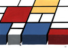 Cartoon: labyrinth (small) by vladan tagged labyrinth,mondrian,art,painting