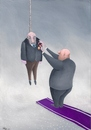 Cartoon: dictator (small) by caferli tagged politic