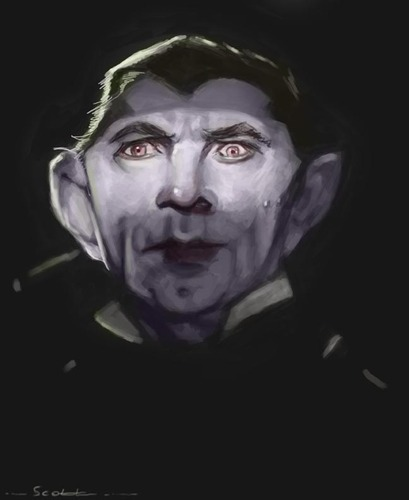 Cartoon: Bela Lugosi (medium) by jonesmac2006 tagged bela,lugosi,vampire,dracula,count