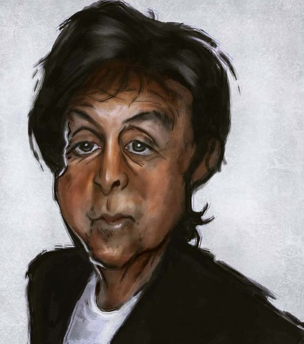 Cartoon: Paul (medium) by jonesmac2006 tagged paul,mccartney