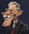 Cartoon: David Letterman (small) by jonesmac2006 tagged david,letterman