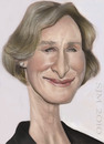 Cartoon: Glenn Close (small) by jonesmac2006 tagged caricature