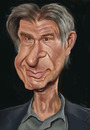 Cartoon: Harrison Ford (small) by jonesmac2006 tagged harrison,ford,caricature