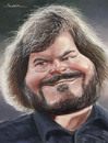 Cartoon: Jack Black (small) by jonesmac2006 tagged jack,black,fatty