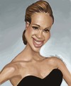 Cartoon: Jessica Alba (small) by jonesmac2006 tagged jessica,alba,caricature