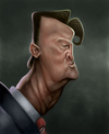 Cartoon: LV Gaal (small) by jonesmac2006 tagged caricature
