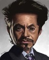 Cartoon: Tony Stark (small) by jonesmac2006 tagged tony,stark,iron,man,caricature