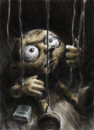 Cartoon: forced to hang around (small) by nootoon tagged nootoon,illustration,germany