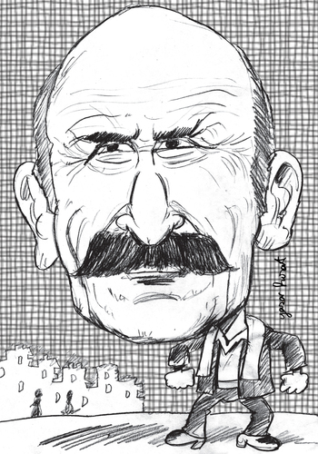 Cartoon: TUNCEL KURTIZ (medium) by komikadam tagged tuncel,kurtiz