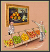 Cartoon: apples (small) by ASKIN AYRANCIOGLU tagged apples