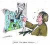 Cartoon: CO2-Ziele (small) by mandzel tagged co2,klimaziele,merkel,adventskalender