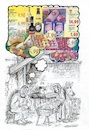 Cartoon: Fröhliche Weihnachten (small) by mandzel tagged christkind,maria,joseph,stall,heiligabend