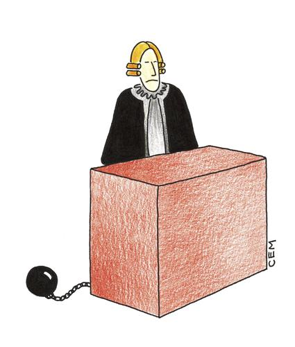 Cartoon: JUDGE (medium) by cemkoc tagged mahkeme,hakim,avukat,sank,yarg,hukuk,adalet,law,justice,provision,judge,court,lawyer,supreme,criminal,civil,rights,accused,indictment,public,prosecutor,gesetz,gerechtigkeit,bereitstellung,richter,gericht,anwalt,oberster,gerichtshof,krim