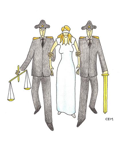 Cartoon: Themis (medium) by cemkoc tagged mahkeme,hakim,adalet,richter,gesetz,legal,jurisdiction,lex,supreme,tribunal,judgement,court,judge,justice,themis,cartoons,law,karikatürleri,hukuk