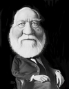 Cartoon: Andrew Carnegie (small) by rocksaw tagged andrew,carnegie