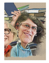 Cartoon: close up (small) by rocksaw tagged bookstore,contest,close,up