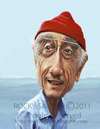 Cartoon: Jacques Cousteau (small) by rocksaw tagged jacques,cousteau,caricature