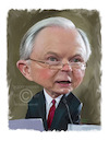 Cartoon: Jeff Sessions (small) by rocksaw tagged caricature,jeff,sessions