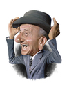 Cartoon: Jimmy Durante (small) by rocksaw tagged caricature,jimmy,durante