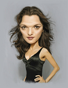 Cartoon: Rachel Weisz (small) by rocksaw tagged caricature,rachel,weisz