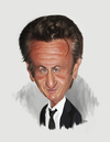 Cartoon: Sean Penn (small) by rocksaw tagged sean,penn