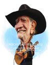 Cartoon: Willie Nelson (small) by rocksaw tagged willie,nelson,caricature