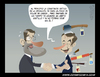 Cartoon: critica al presidente (small) by cosmicomix tagged mariano,rajoy,rodriguez,zapatero,ppsoe
