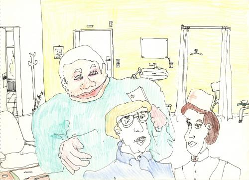 Cartoon: hospital (medium) by gina tagged tags,