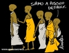 Cartoon: Default risk (small) by Atride tagged somalia carestia hungersnot drought famine africa