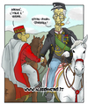 Cartoon: Italy 150 years later (small) by Atride tagged silvio,berlusconi,umberto,bossi,italia,italy,giuseppe,garibaldi,vittorio,emanuele,ii
