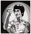 Cartoon: BRUCE LEE !. (small) by ismail dogan tagged bruce,lee