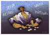 Cartoon: EURO CRISIS !... (small) by ismail dogan tagged euro