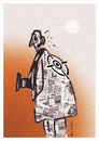Cartoon: FREE JOURNALISM !.. (small) by ismail dogan tagged journalist