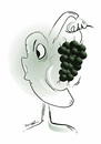 Cartoon: grapes... (small) by ismail dogan tagged teror