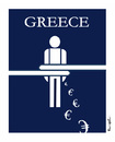 Cartoon: GREECE !. (small) by ismail dogan tagged greece